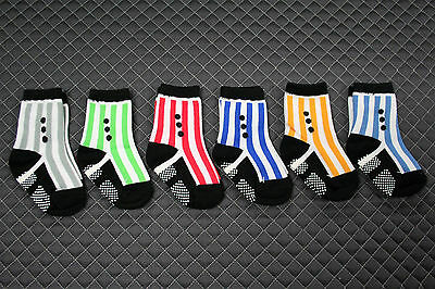 Toddler Shoe Socks Spats style for boys - 6 PAIRS
