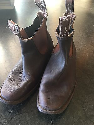 Women's Leather 'Baxter' Boots - Size 9.