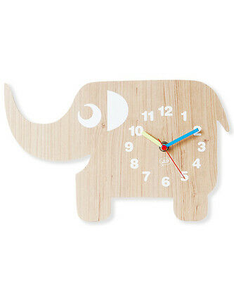 Ellie The Elephant Wall Clock - Nursery & Kids Room Decor