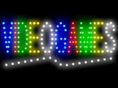 Video Games Shop Led Neon Sign Display Light Sign New