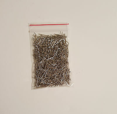 """Sequin Pins 1000 psc (30g) SILVER 1/2"""""""