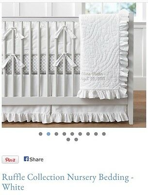 Pottery Barn Ruffle Collection- Cot Skirt