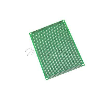 Double side Protoboard Circuit Tinned Universal DIY Prototype PCB Board 8x12cm