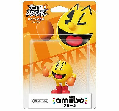 Nintendo amiibo / Pac-Man / Super Smash Bros. / 3DS/Wii U