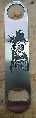Nightmare on elm street stainless steel bottle opener/church key