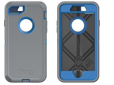 iPhone 7 Otterbox Defender Cover Blue / Grey