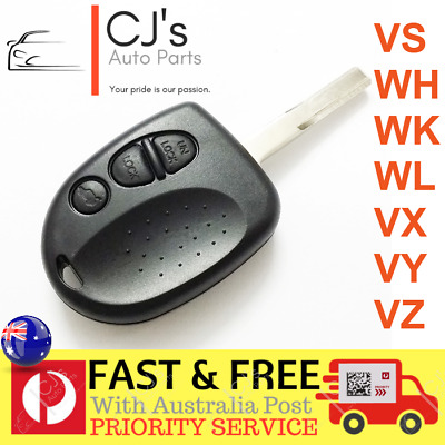 3 Button Remote Key Case Shell Suits VS WH WK WL VT VX VY VZ Holden Commodore