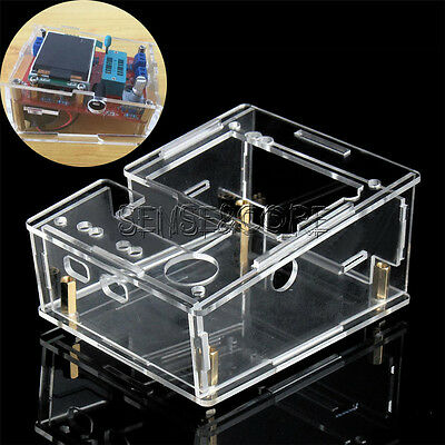 Acryl Case For TFT GM328 Transistor Tester Diode LCR ESR PWM Square Generator