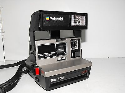 """Polaroid Sun 600 LMS Instant Camera As New Working & Tested """"L@@k"""""""