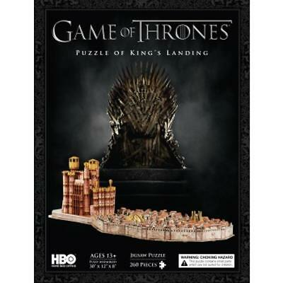 4D Cityscape - Game Of Thrones / King's Landing 3D Puzzle