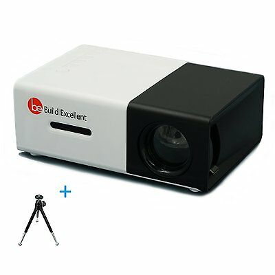 Build Excellent Portable Projector Mini LCD Projector Pico LED Projector YG300