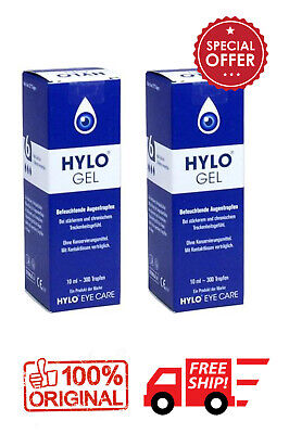 2x Ursapharm Hylo Gel 10ml / 0.2 % sodium hyaluronate
