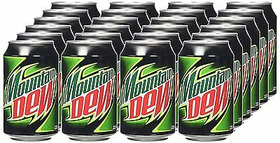 Mountain Dew 330ml Can x 24 Pack