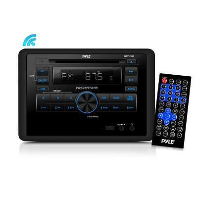Pyle PLRVST300 Wall Mount Bluetooth Audio/Video Receiver, A/V Stereo Headunit