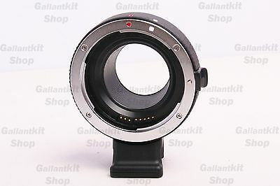 Canon EF Mount Lens Mount Auto Focus Adapter for Canon EOS-M Mirrorless DC
