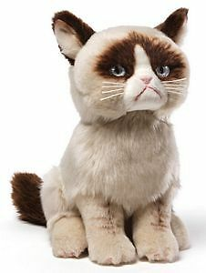 Medium Grumpy Cat Plush by Gund - 4040133