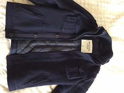 Abercrombie & Fitch Men's Wool Military Heritage Jacket
