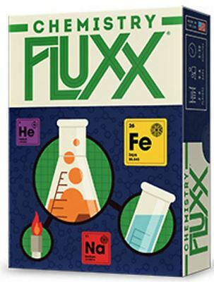 Chemistry Fluxx - Strategy Card Game