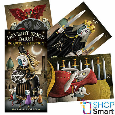 Deviant Moon Borderless Edition Tarot Deck Cards Oracle Esoteric Telling New