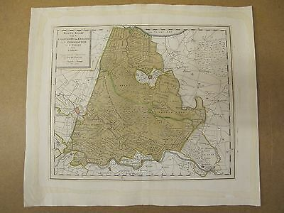 Isaak Tirion Antique map of Amsterdam 1759