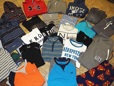 27 pieces Men's Teens Size Small Medium lot American Eagle Outfitters Aeroposta