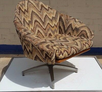 Pearsall for Craft Associates model 1964-c Swivel Chairs