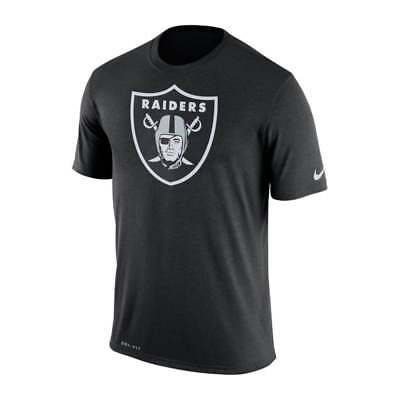 Nike NFL Oakland Raiders Legend Logo Essential Dri-Fit T-Shirt