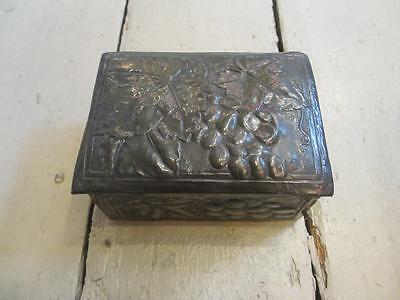 Arts & Crafts Pewter Box circa1890 BLA01596