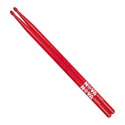 Vic Firth 7A in red with NOVA imprint