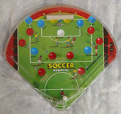 Vintage Soccer bagatelle marx Made in Swansea British football game G73 old rare
