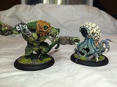 Gator Army - Fully Painted - 174 Points - Warmachine Hordes
