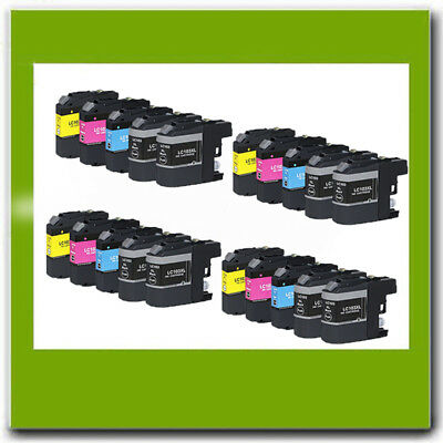 20Pk Non-Oem Brother Lc101 Lc103 Xl Ink Cartridge For Mfc-J450Dw J475Dw J4710Dw