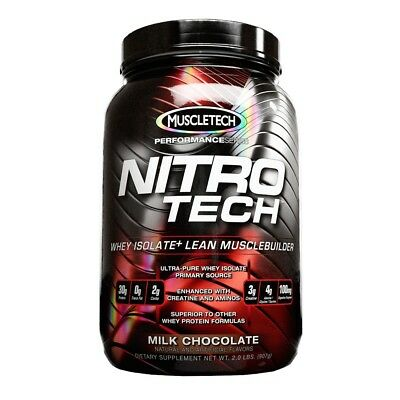 Nitro-Tech Performance Series 2lb (906g) - Muscletech - Proteine del Siero Latte
