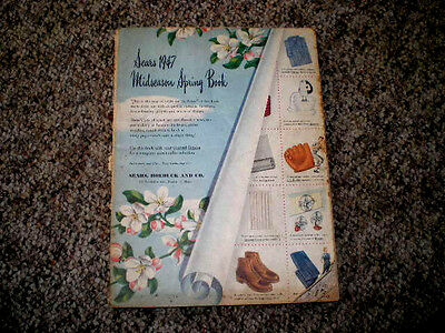 Sears Roebuck 1947 Mid-season Spring Catalog 321 pages