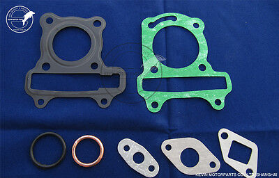 Head Gasket SET GY6 50cc Cylinder Gasket 39mm Head Gasket Scooter Moped 139QMB