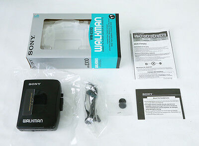 """Sony Radio Cassette Player WALKMAN WM-EX10 """"Sold As Seen"""" Tested from Japan!!!"""