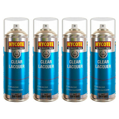 Hycote Clear Lacquer 4 Spray Can Paint 400ml
