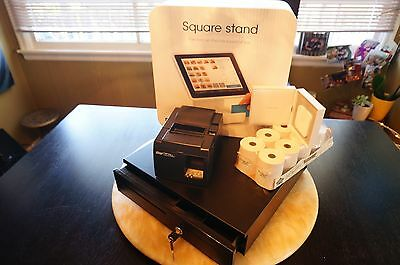 Square Stand POS Bundle for IPad 2 (Third Gen 30 Pin)