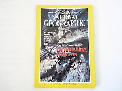 Revista National Geographic Ingles November 1995
