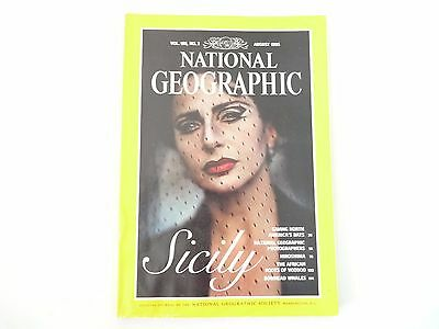 Revista National Geographic Ingles August 1995