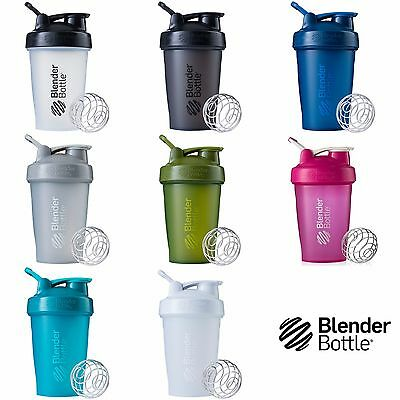 Blender Bottle Classic Shaker 20 Oz With Loop Top Blender Mixer Cup Colors