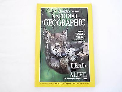 Revista National Geographic Ingles March 1995