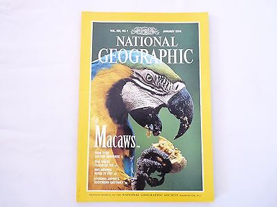 Revista National Geographic Ingles January 1994