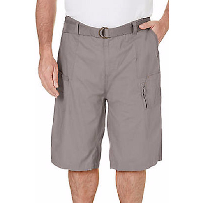 """Red Face BIG and TALL BTL Mens Cargo Shorts With Belt Cotton Twill  SIZES 44-50"""""""