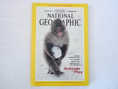 Revista National Geographic Ingles December 1994