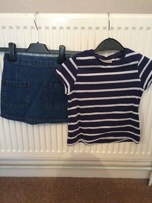 Girls Next Nautical Outfit Aged 3-4 Years
