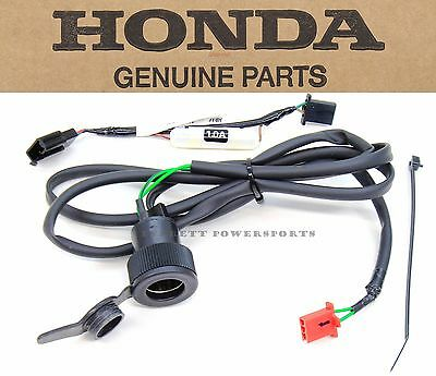 Genuine Honda Accessory Socket '12 13 14 15 NC 700 X XD 12V Outlet Plug DC #H150