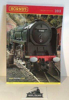Hornby Catalogue/paperwork 2013 - 59Th Edition Reference Point - Light Usage