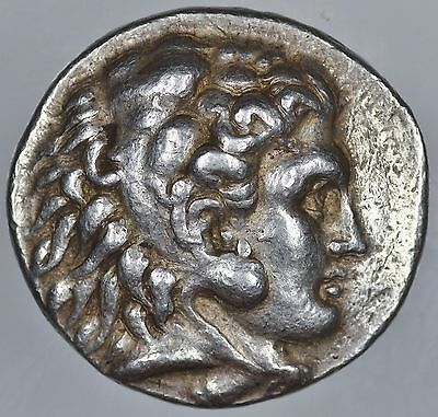 Macedonia Alexander the Great AR Tetradrachm 311-300 BCE Under Seleukos I
