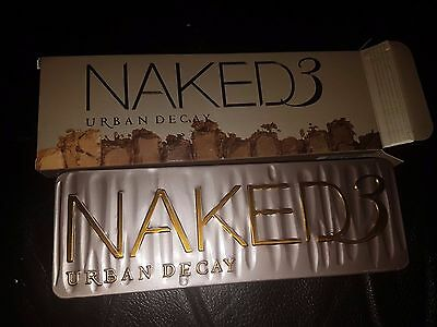 Naked 3 Eye Shadow Palette Professional Brand new UK Great Quality Urban style